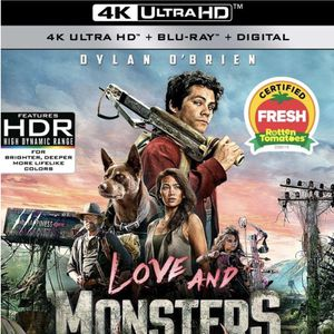 Love And Monsters Digital Movie for Sale in Los Angeles, CA
