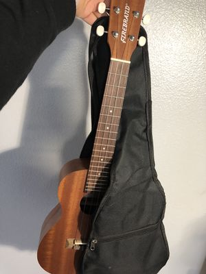 FIREBRAND UKULELE & carrier bag for Sale in Riverside, CA