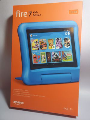 Amazon fire Tablet 7 Kids edition Blue with Kids Proof case, latest model for Sale in Miami, FL