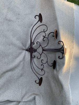 Wrought iron candle holder. for Sale in Lodi, CA