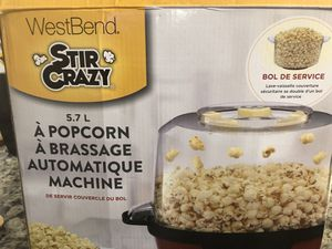 West bend popcorn machine for Sale in Apex, NC