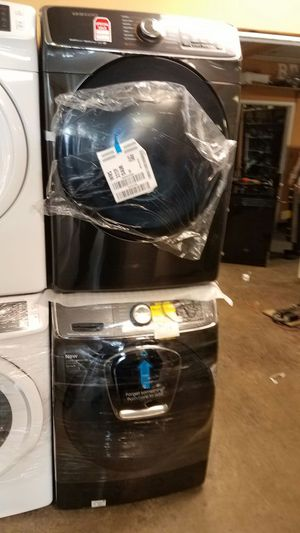 Brand New Samsung Black Stainless washer and dryer for Sale in Sterling, VA