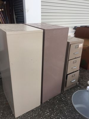 File Cabinets (Sold Separately) for Sale in Orlando, FL