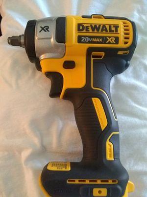 "DeWalt 20 v XR brushlees impact wrench 3/8"" tool only for Sale in Las Vegas, NV"