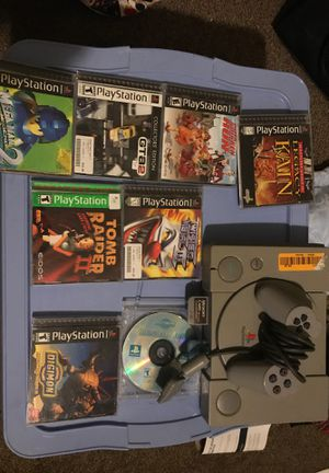 Psx with games for Sale in Madera, CA