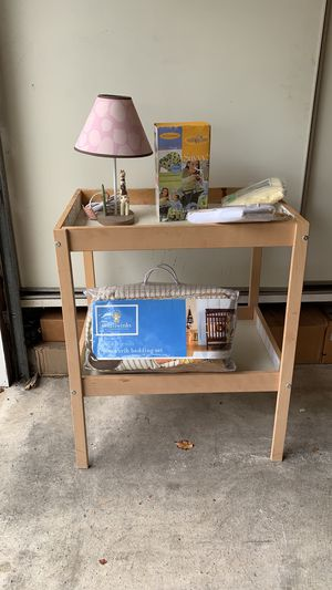 Changing table and baby stuff for Sale in Fremont, CA