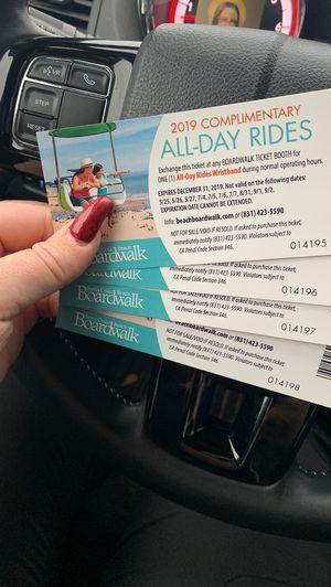 Santa Cruz tickets for Sale in Clovis, CA