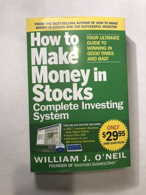 How to Make Money in Stocks Complete Investing System (Paperback) for Sale in Monterey Park, CA