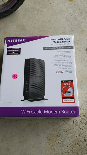 Neatgear WiFi cable modem for Sale in Delaware, OH
