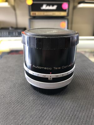 Vivitar Automatic Tele-Converter, 3X-4 for Sale in Humble, TX