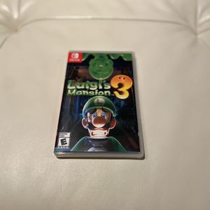 Luigi's Mansion 3 (Nintendo Switch) for Sale in Chicago, IL