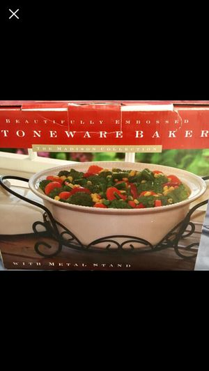 New/ Serving & Baker dish for Sale in Crownsville, MD