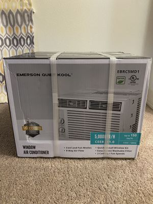 Emerson Quiet Kool 5,000 BTU 115V Window Air Conditioner for Sale in Bothell, WA