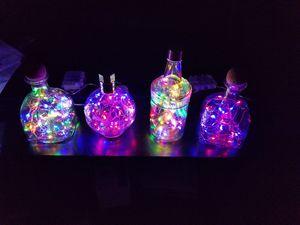 Lights in bottles for Sale in Walpole, MA