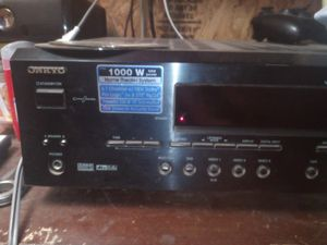 ONKYO 6.1 surround sound receiver 1000 watt for Sale in Midlothian, TX