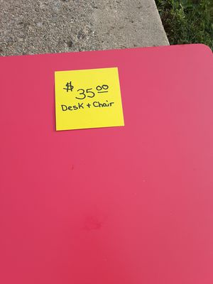 Kids desk and chair for Sale in Baltimore, MD