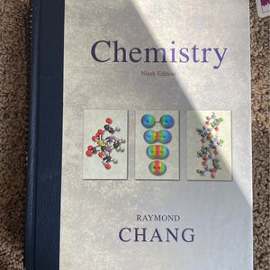 Chemistry Ninth Edition Chang for Sale in San Diego, CA