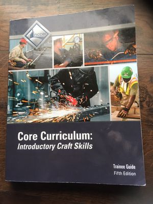 Core curriculum intr NCCER 5th edition for Sale in Palm Harbor, FL