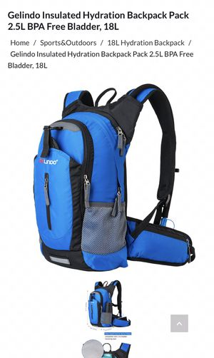 Galindo hydration backpack for Sale in Los Angeles, CA