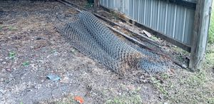 FREE - large roll of chain link fence for Sale in Trinity, NC