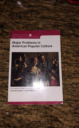 Major Problems in American Popular Culture for Sale in Los Angeles, CA