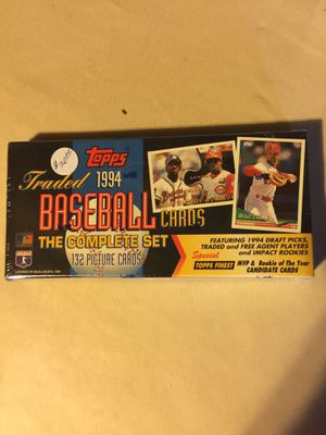1994- Topps Traded Set for Sale in Marysville, WA