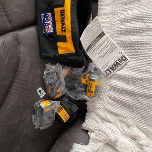 "Brand New DeWalt Bag Bundle W/ 1/4"" 20V Max Cordless Impact Driver for Sale in Kansas City, MO"