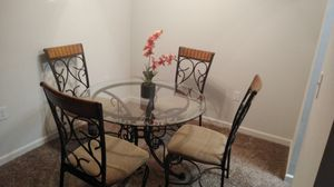 Dining set with 4 chairs for Sale in Tucker, GA