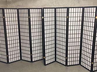 10 Panel Room Divider Square Design for Sale in Arlington,  VA
