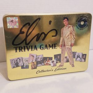 New Elvis Presley Trivia Game Collector's Edition for Sale in La Grange Park, IL