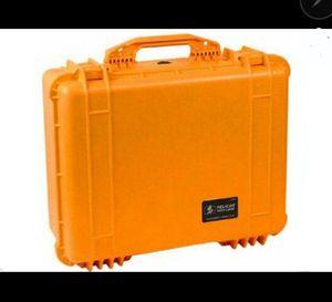 2x Pelican 1550 Case with Foam (Orange) $50- each 1 or 2 for Sale in Oakland, CA