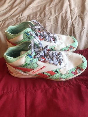 Reebok Monopoly Shoes Size 12 for Sale in San Francisco, CA