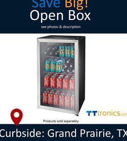 Insignia™ - 115 Insignia Cooler Open Box for Sale in Grand Prairie,  TX