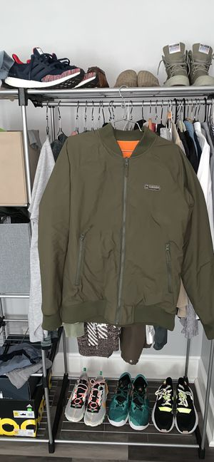 Men's reversible Columbia jacket sz large for Sale in Portland, OR
