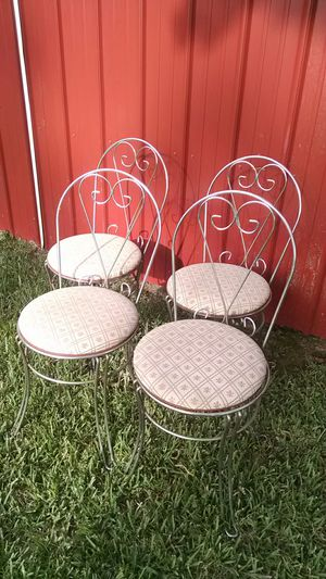 Ice cream parlor chairs for Sale in Camden, AR