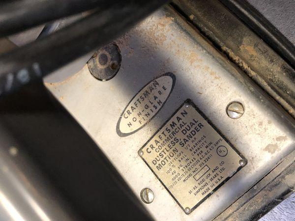 Estate Sale - 2 Electric Sanders