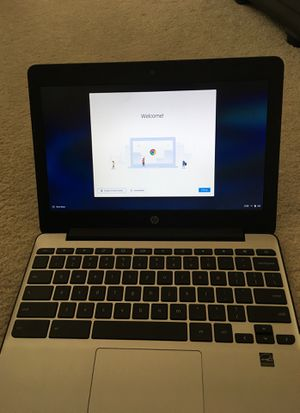 New HP Chromebook with Leatherette Case for Sale in Kirkland, WA