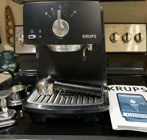Krups XP400 with all parts & booklet & vev italian shot cups for Sale in Chandler, AZ