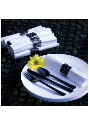 Disposable cutlery set 25 Court for party. for Sale in New Braunfels, TX
