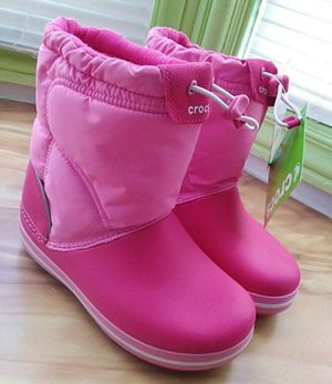 NWT Crocs Winter Puff Boot Kids Size c13 for Sale in San Francisco, CA