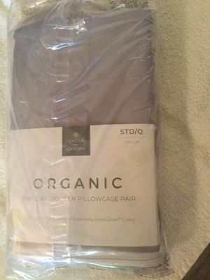 under the canopy 250 tc pillowcases set of two violet standard size for Sale in Wichita, KS