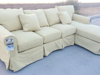 **NEW** Sectional Couch & Chaise Lounge | Yellow Sofa for Sale in North Las Vegas,  NV