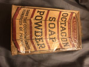 Vintage Full Soap Powder and Linit Laundry Starch. for Sale in West Palm Beach, FL