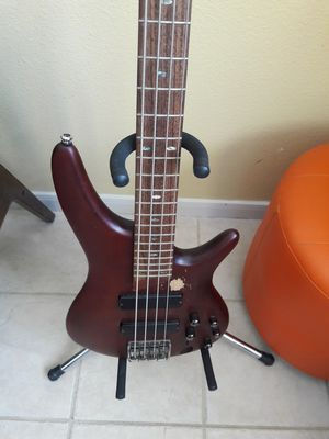 Ibanez sr500 bass 4 string guitar for Sale in Missouri City, TX