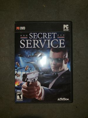 Secret service pc game for Sale in Portland, OR
