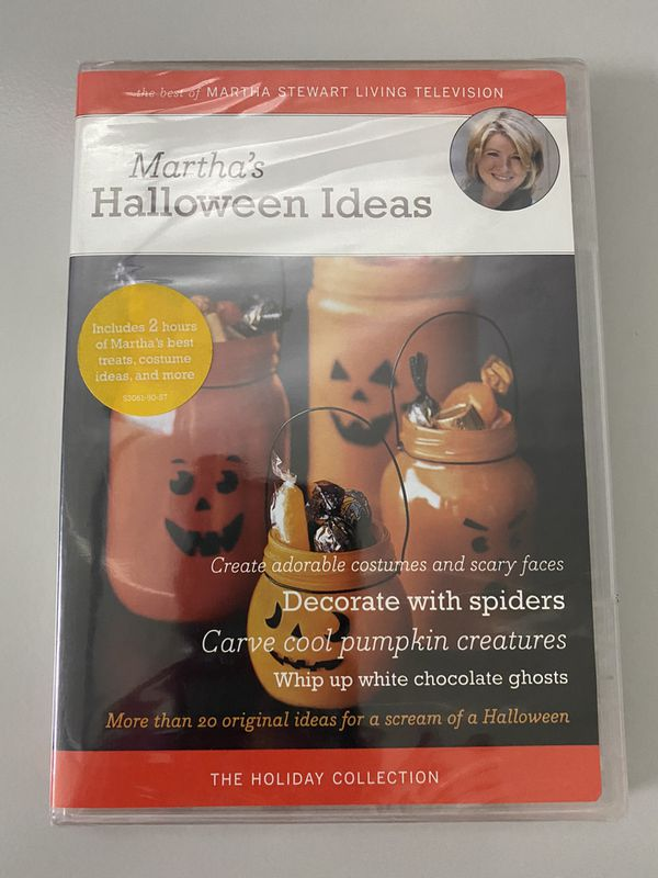NEW Martha Stewart's Halloween Ideas The Holiday Collection DVD