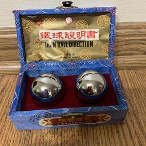 Vintage Chinese Iron Direction Balls Baoding Balls for Sale in Elkridge, MD