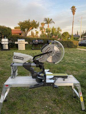 RYOBI MITER SAW for Sale in Fontana, CA