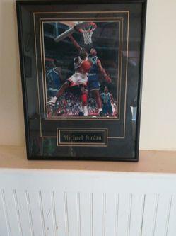 Michael Jordan Framed for Sale in Lisle,  IL