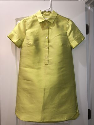 J. Crew Collection Silk Shirt Dress Size 00 for Sale in Mount Juliet, TN